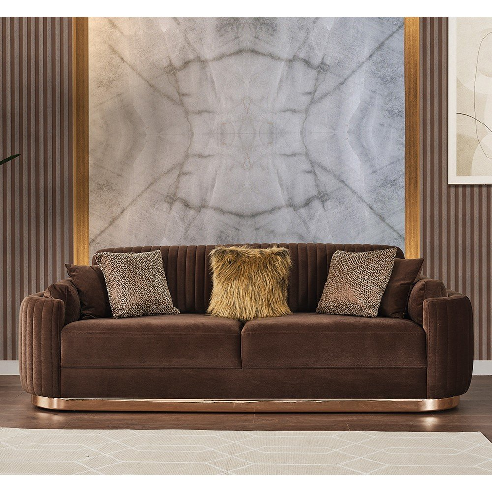 Gloss Vol1 3 Seater Sofa