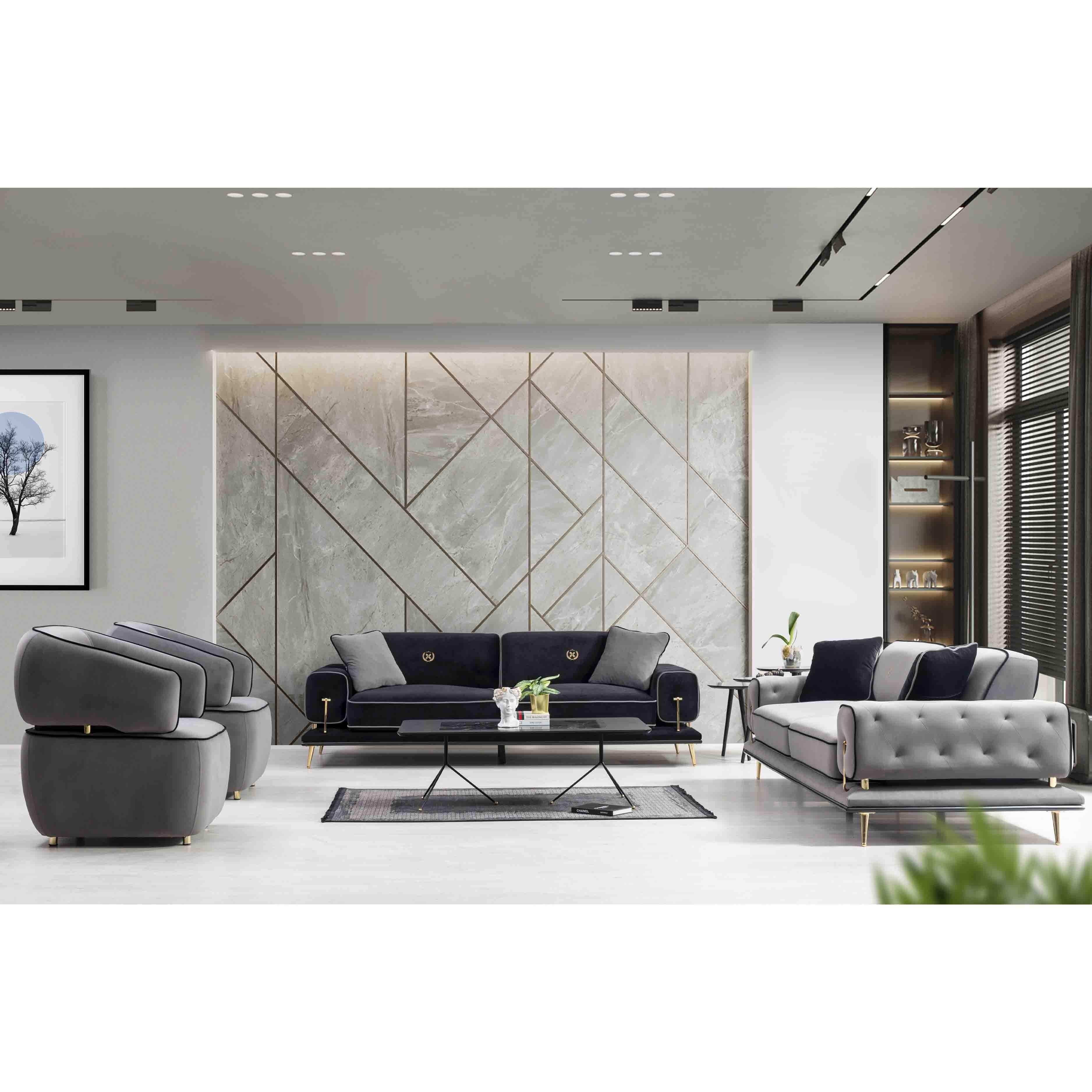 Royal Sofa Set 3+3+1+1